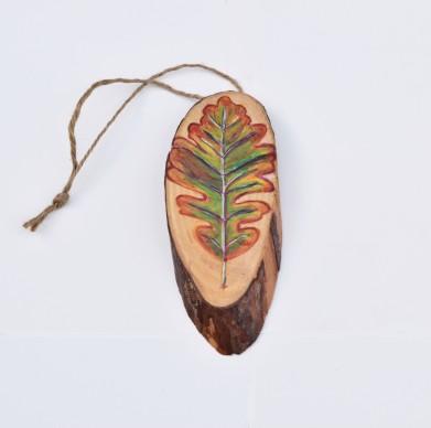 Burr Oak Leaf